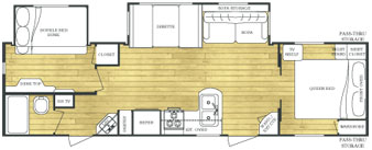 rental floorplan